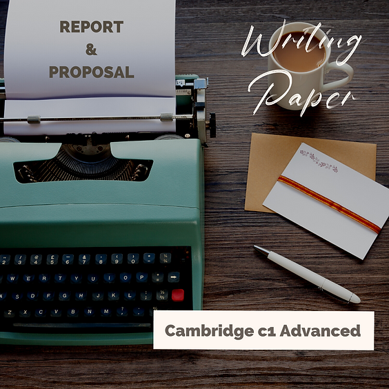 Cambridge C1 Report&Proposal Writing