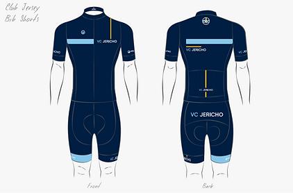 VC Jericho club jersey and bib shorts