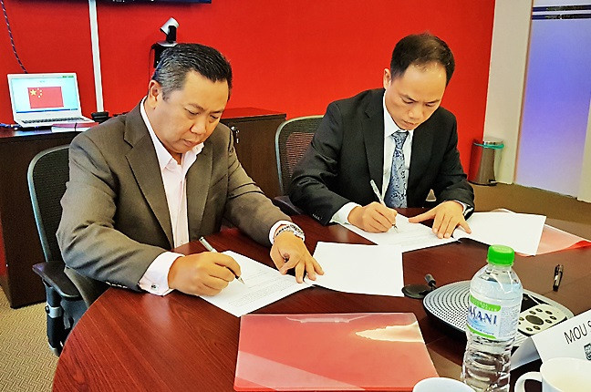 LCB, Chinese college strengthen cooperation