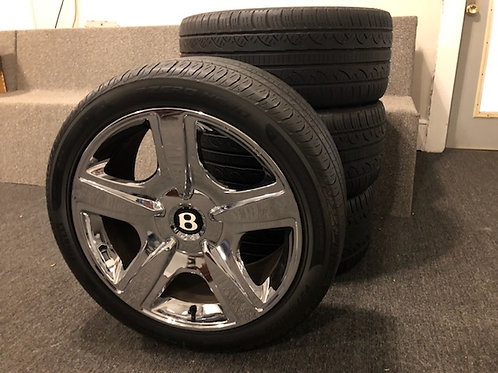 Bentley Rims with Tires