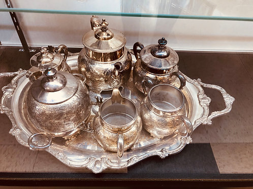 Pewter set