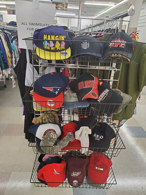 Baseball type caps