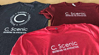 c scenic t shirts with logo