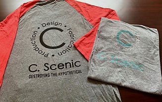c scenic merch t shirts and half sleeve