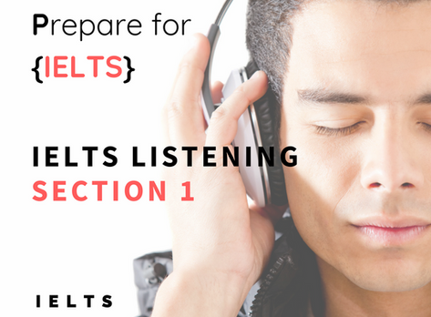 IELTS Listening - Tips for Section 1