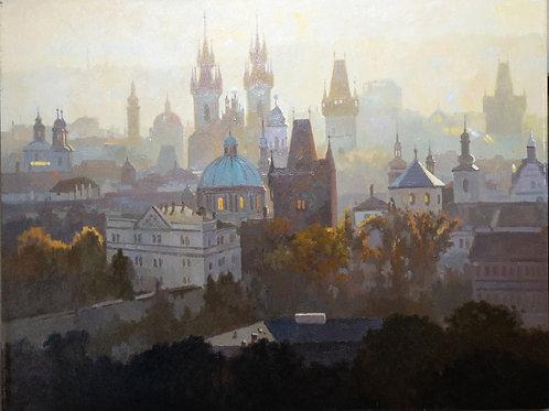 Skyline in Prague
