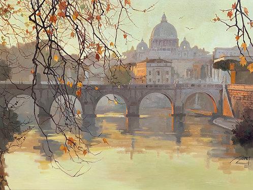Golden Light in Rome