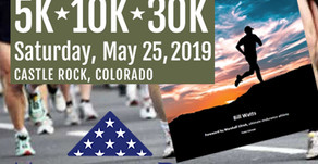 Memorial Day Run & March (and book signing!)