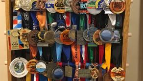 Custom Finisher Medal and Award Rack