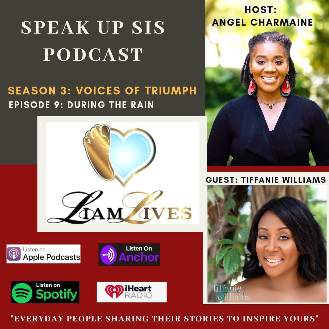 Speak up Sis Podcast - Tiffanie Williams