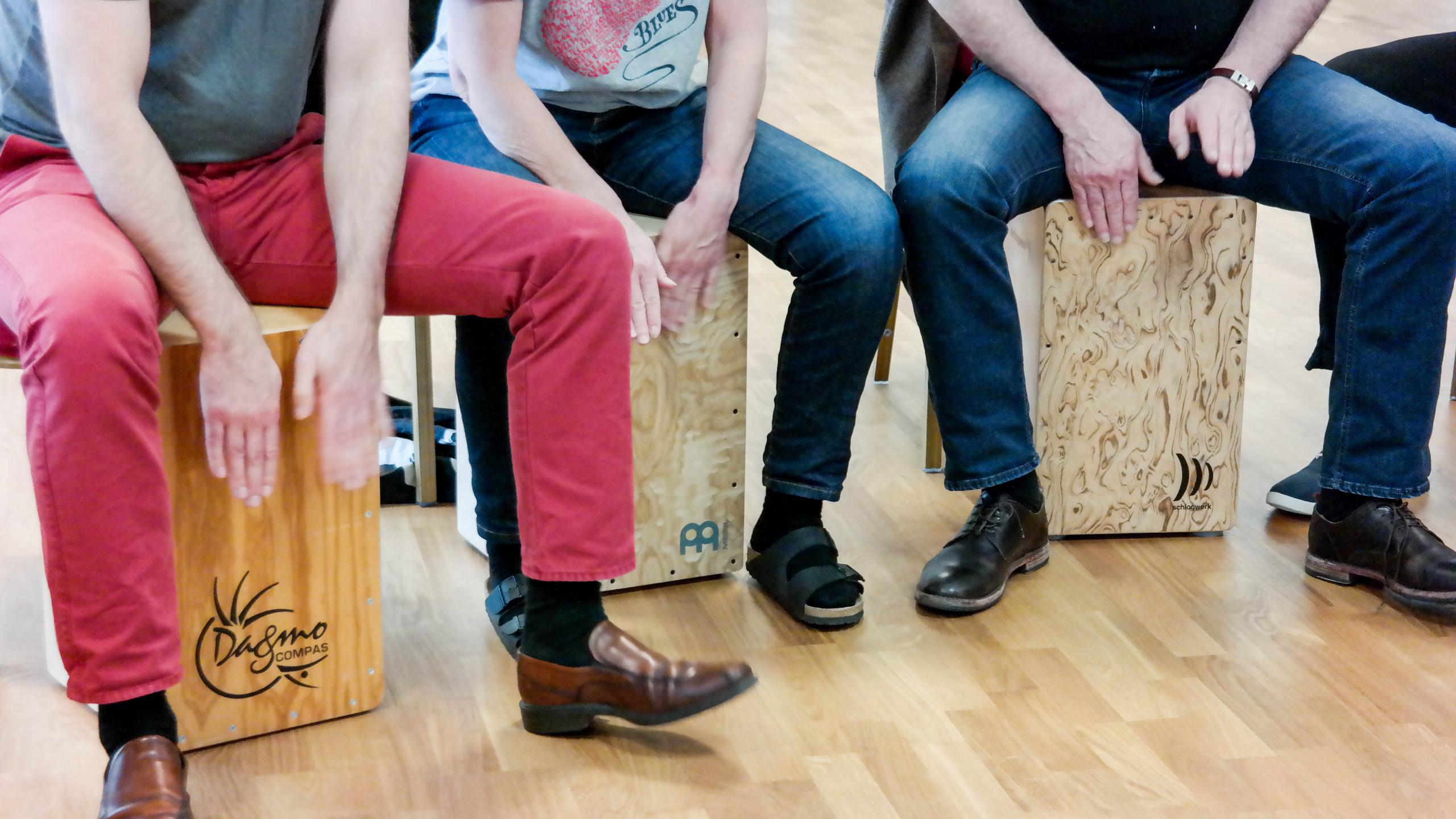 Trio de cajon