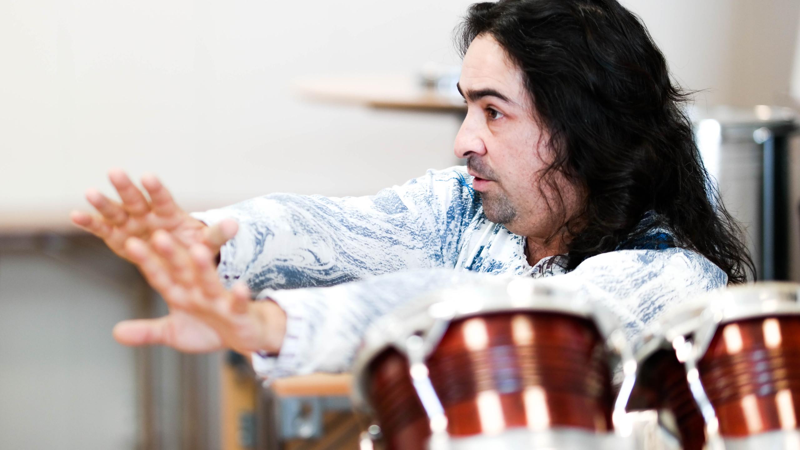 Antonio Torner instruerer
