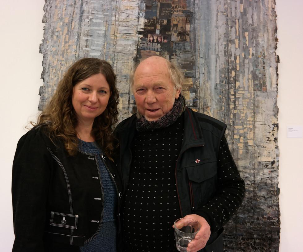 Utstilling med Kåre Nordvik på Galleri Røed, Jeløya, 10.02 - 01.04.