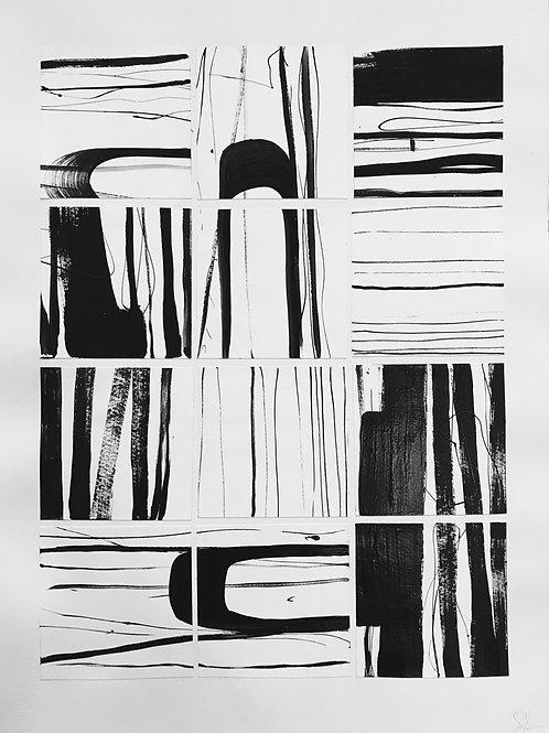 BW Collage No. 9