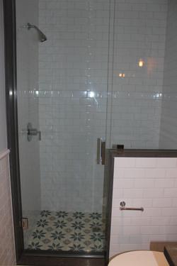 Downstairs bath shower detail