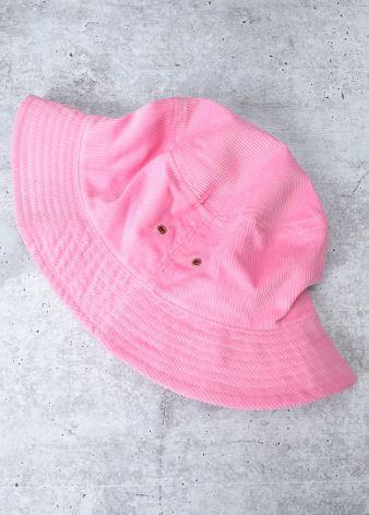 Bucket Hat in Pink Drink