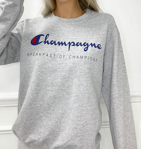 Unisex Champagne Sweatshirt
