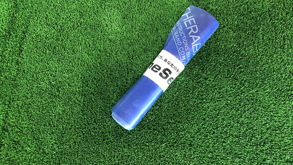 セラバンド 青(エクストラヘビー) 厚さ;0.3mm長さ;約1.3m