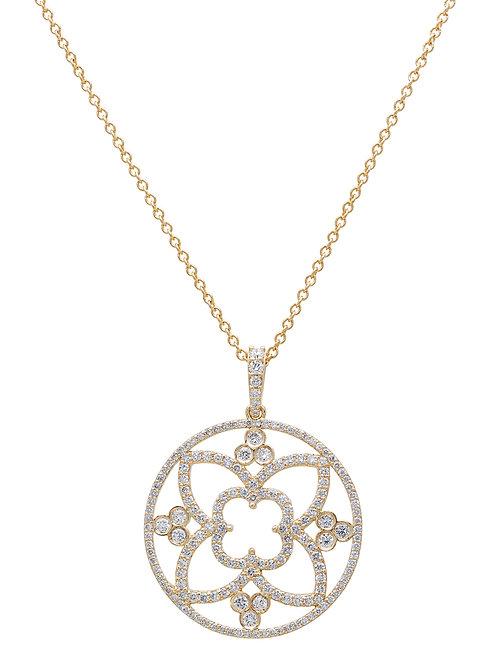 Antique Style Diamond Pendant