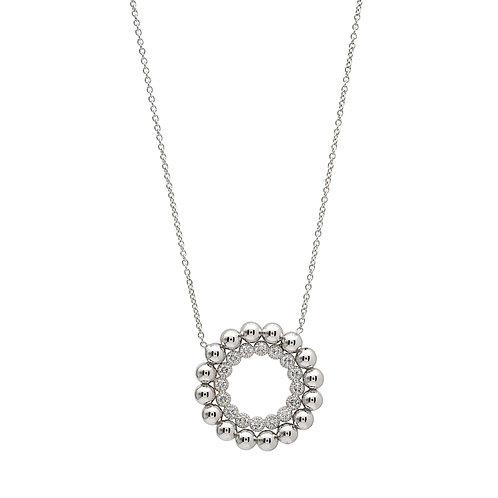 Caviar Beaded Open Necklace