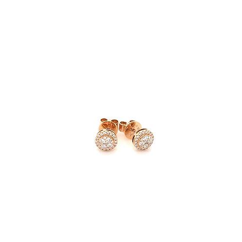 Mini Diamond Cluster Earrings