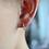 Thumbnail: Diamond Huggie Earrings