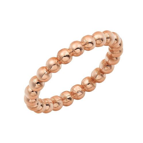 Caviar Beaded Ring