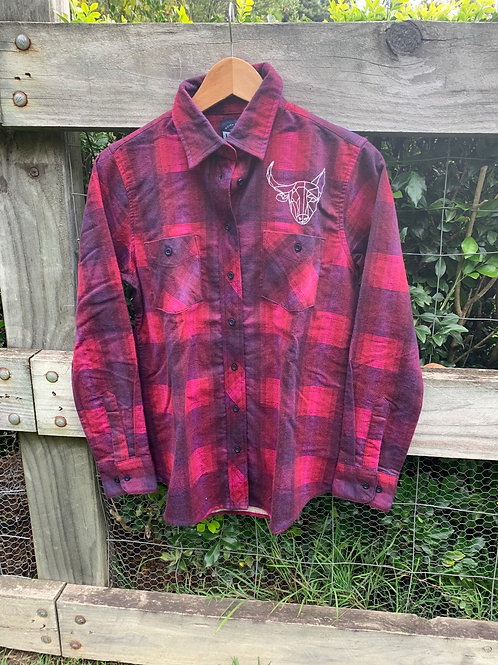 Ladies BD Crew Flanno - Sheree