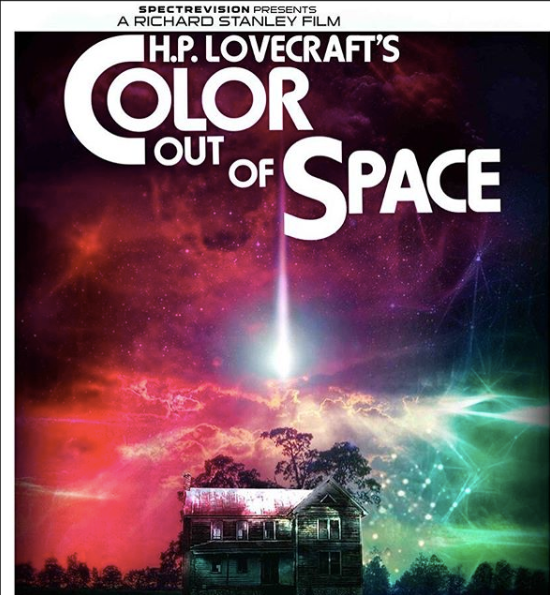Spectrevision + Nicolas Cage + Richard Stanley + H.P. Lovecraft. 'Color Out of Space'