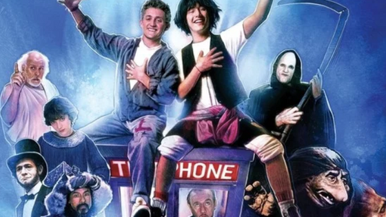 Excellent! Bill and Ted 3 set to go