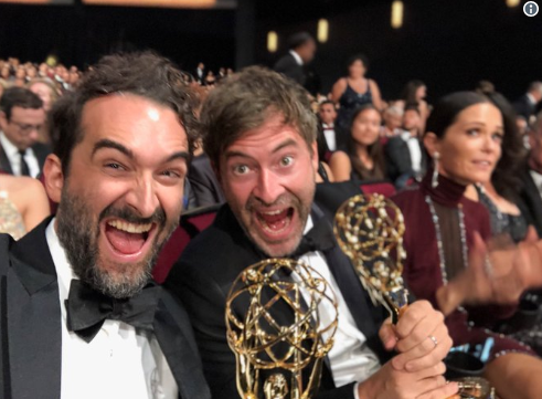 "Congrats to Duplass Bros. on their first Emmy win for  ""Wild Wild Country."""
