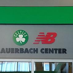 Auerbach Center Dimensional Letters