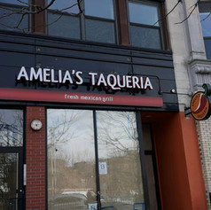 Amelia's Taqueria Channel Letters