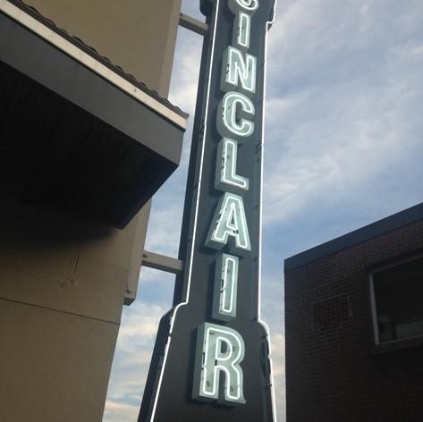 The Sinclair Neon Sign
