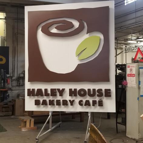 Haley House Wall Sign