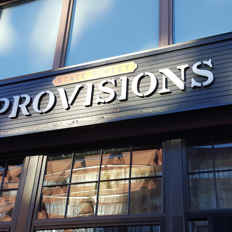 Provisions Channel Letters