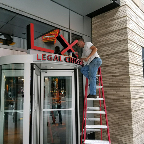 Legal Seafoods Channel Letters