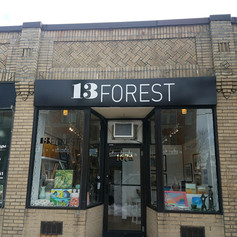13 Forest Wall Sign