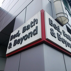 Bed, Bath & Beyond Wall Sign