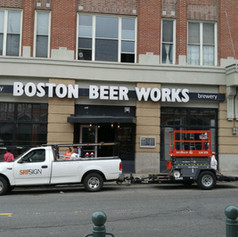 Boston Beer Works Channel Letters