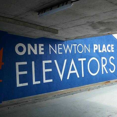 One Newton Place Vinyl Graphics