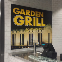 Garden Grill Dimensional Letters