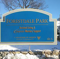 Forestdale Park Monument Sign