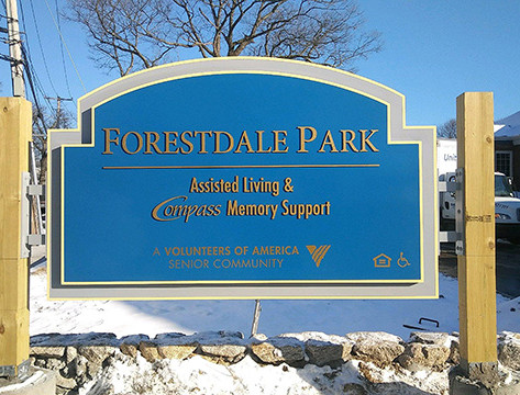 Forestdale Park Monument Sign