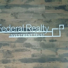 Federal Realty Dimensional Letters