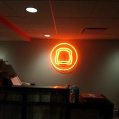 Crust Neon Sign