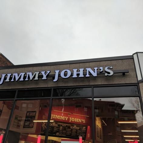 Jimmy John's Channel Letters