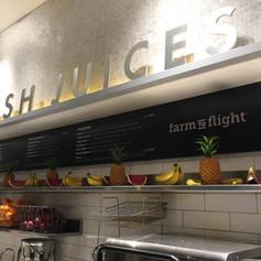 Farm to Flight Dimensional Letters