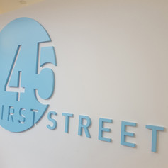 245 Street Dimensional Letters