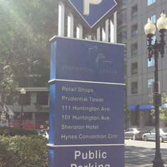 Prudential Center Monument Sign
